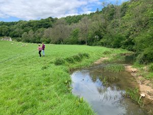 Castle Combe to Ford walk summer walking guides