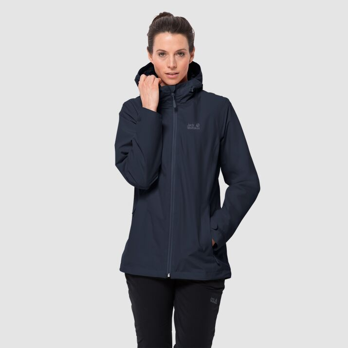 Jack Wolfskin Norrland 3 in 1 Womens Midnight Blue