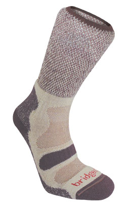 Bridgedale Womens Hike Lightweight Cotton Cool Sock