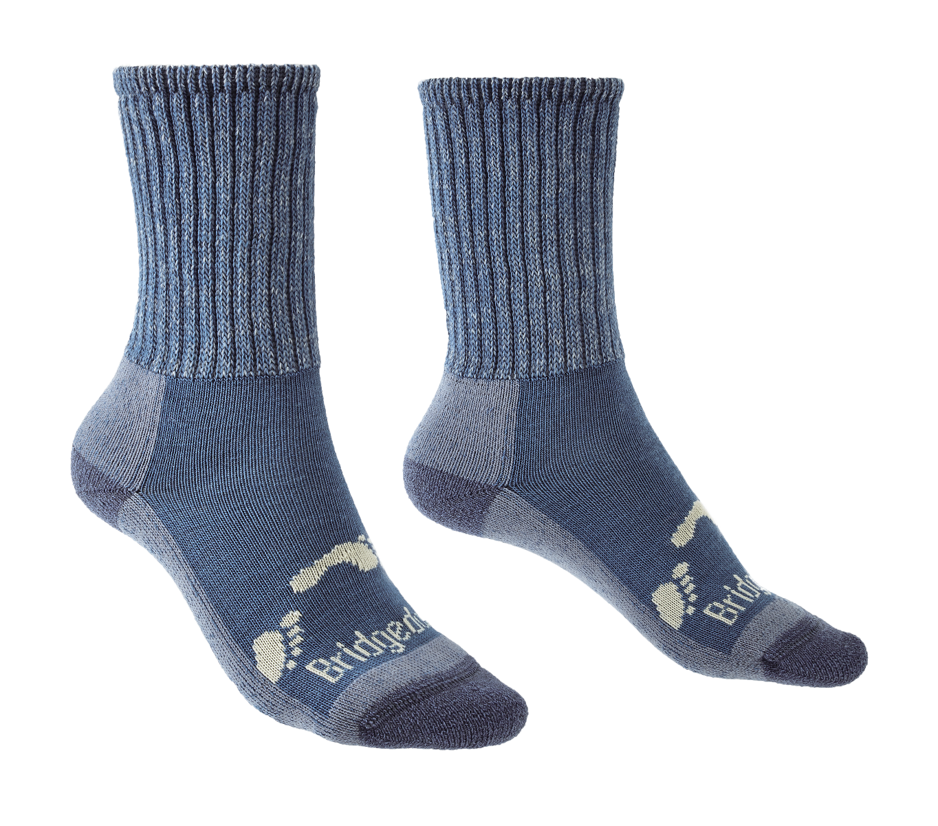 Bridgedale Hike Junior Comfort Boot Sock - Blue