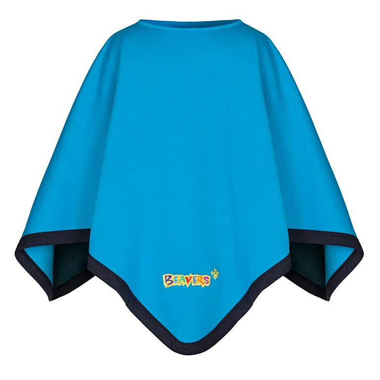 Two Section Poncho Blanket Beavers Cubs