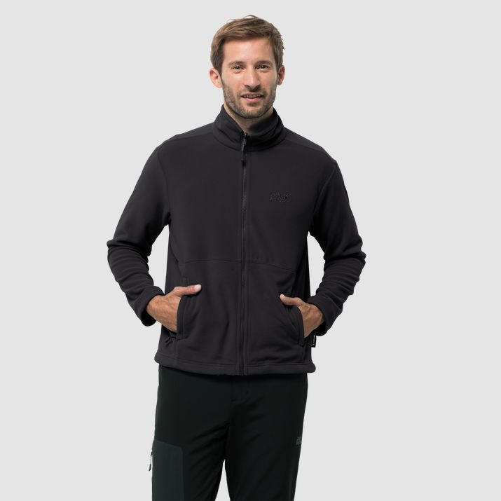Jack Wolfskin Kiruna Mens Jacket Black