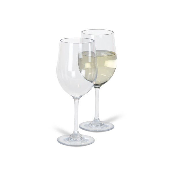 Kampa Noble White Wine Glass-Pack of 2